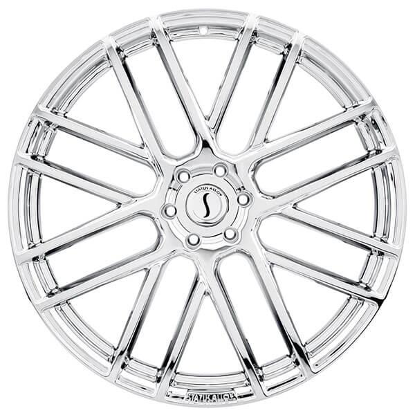 26 u0026quot  status wheels rogue chrome rims  sts018