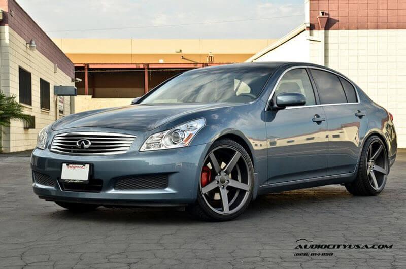 "Mercedes Benz Rims >> 20"" STR Wheels 607 Gun Metal Rims #STR020-3"