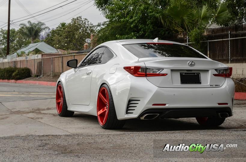 "20"" STR Wheels 607 Neon Red Rims #STR023-3"