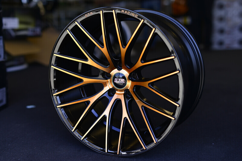 "Cadillac Customer Service >> 20"" Staggered STR Wheels 615 Copper Rims #STR010-4"