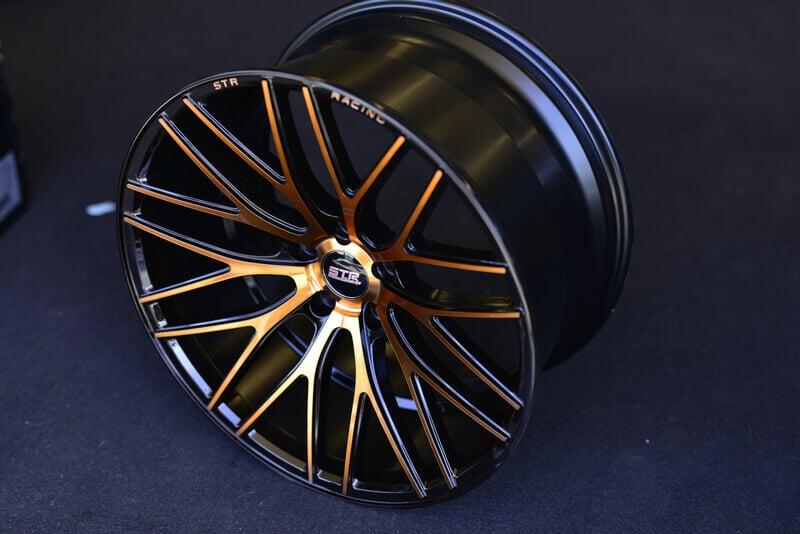 "1999 Dodge Charger >> 20"" Staggered STR Wheels 615 Copper Rims #STR010-4"