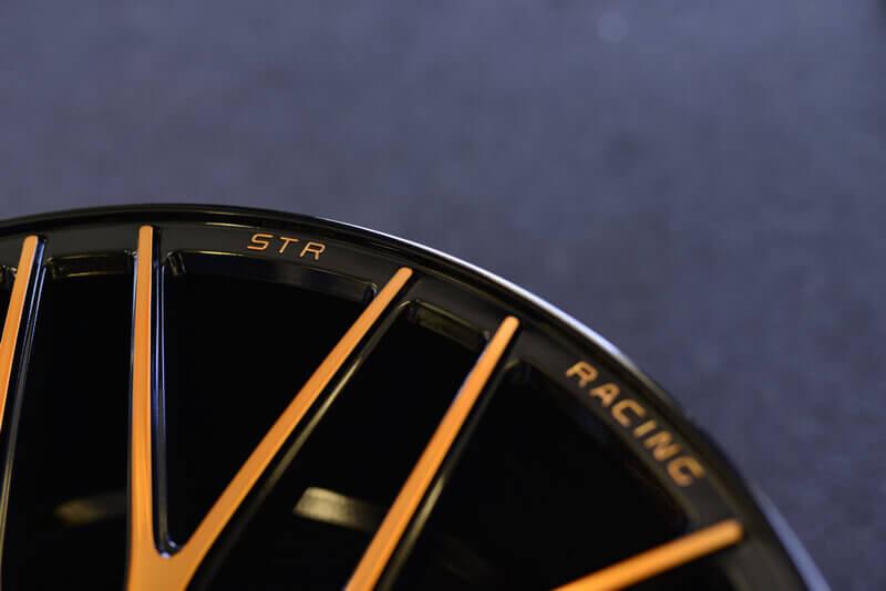 STR Wheels 615 Copper Rims