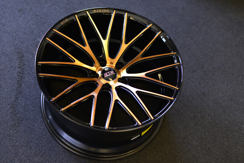 20 Quot Staggered Str Wheels 615 Copper Rims Str010 4