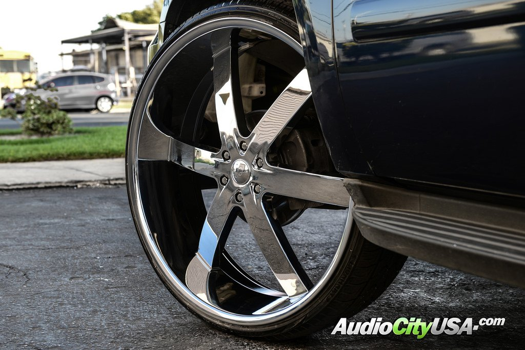 "2014 Chevy Tahoe >> 26"" U2 Wheels 55 Chrome Rims #UT018-3"