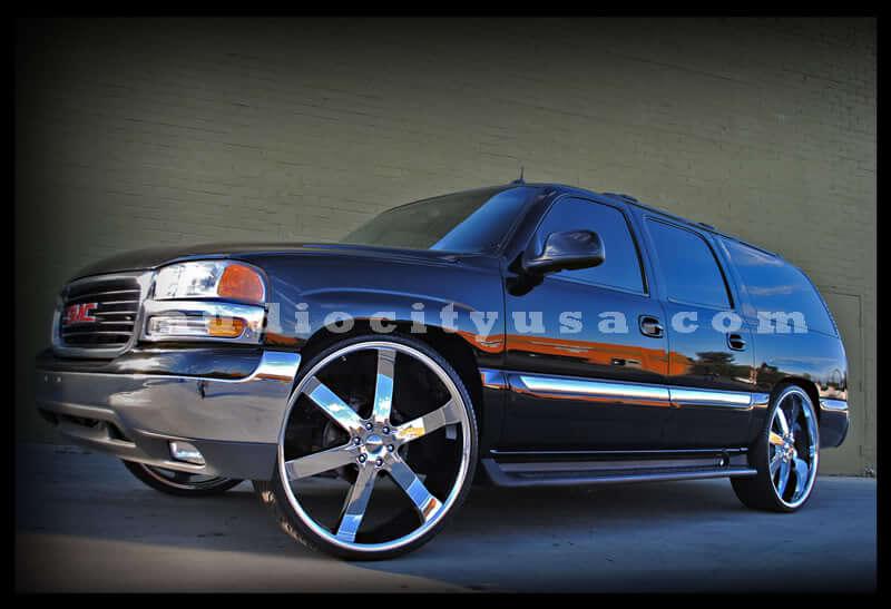 """26"""" U2 Wheels 55 Chrome Rims #UT018-3"""
