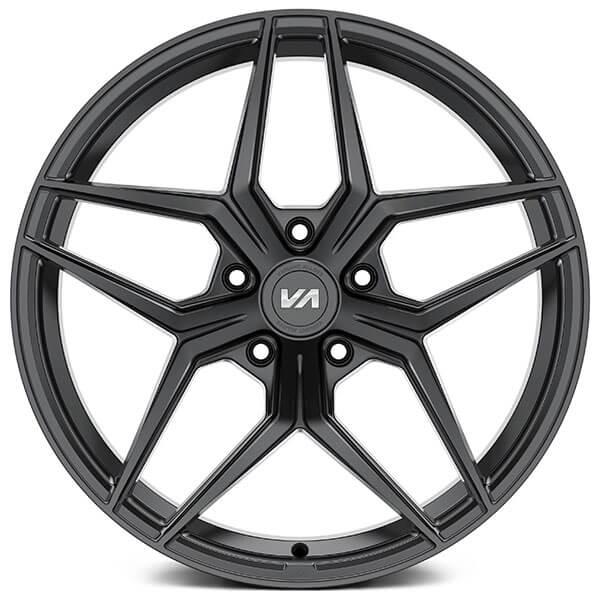 "20"" Staggered Variant Wheels Xenon Satin Black Rims"