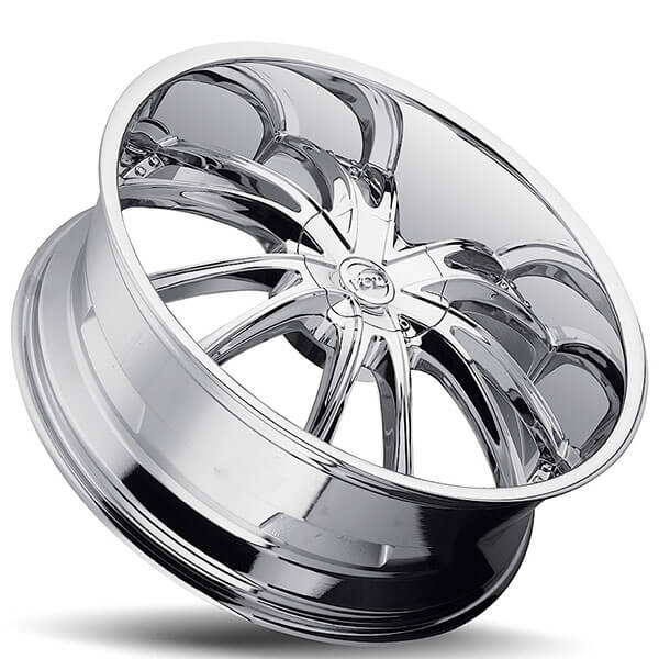 "Bmw Jeep: 20"" VCT Wheels Bossini Chrome Huge Size Lip Rims #VCT027-2"