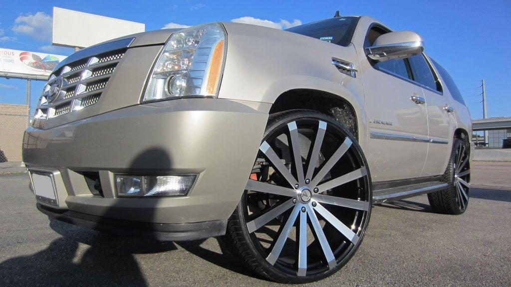 "26"" Velocity Wheels VW12 Black Machined Rims"