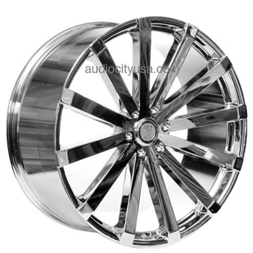 24 Quot Velocity Wheels Vw12 Chrome Rims Vc018 5