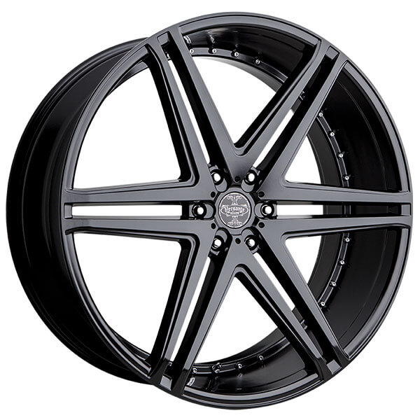 "26"" Versante Wheels VE233 Matte Black Rims"