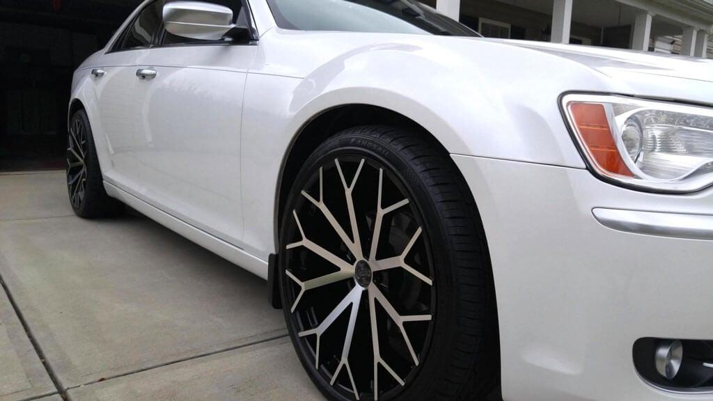 "22"" Versante Wheels VE229 Black Machined Rims"