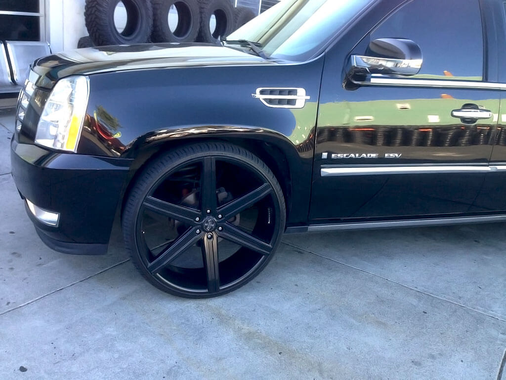 "18"" Versante Wheels VE228 Matte Black Rims"