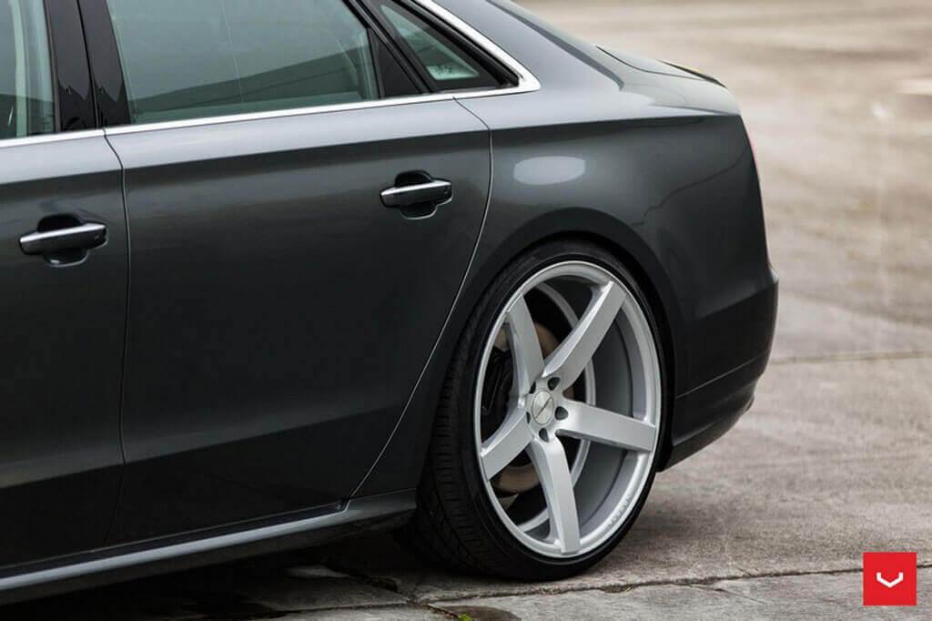 20 Quot Staggered Vossen Wheels Cv3 R Gloss Silver Rims Vss002 4