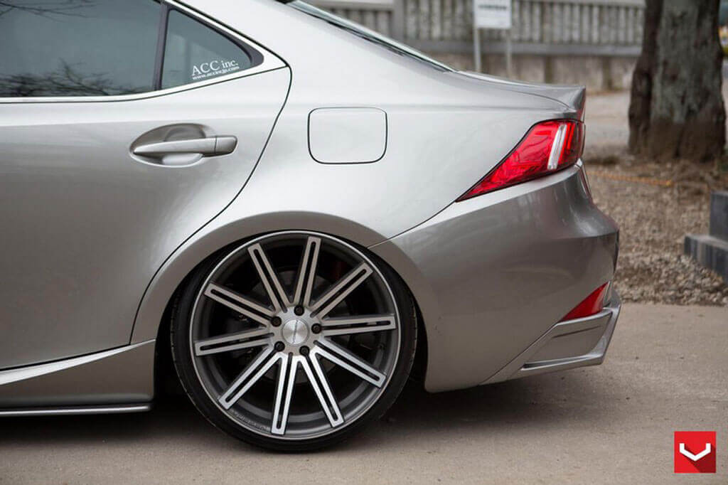 22 Quot Staggered Vossen Wheels Cv4 Silver Polished Rims Vss007 4