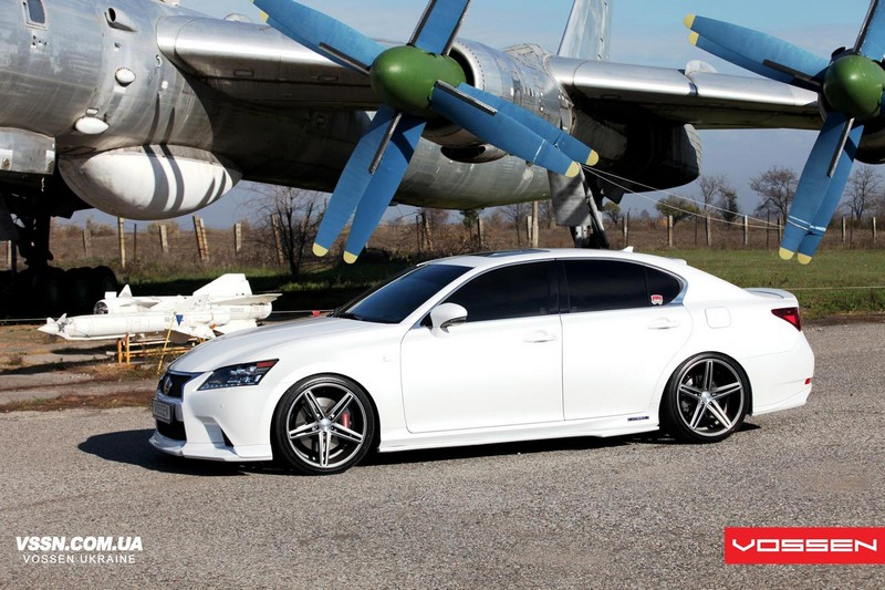 """20"""" Staggered Vossen Wheels CV5 Silver Polished Rims"""