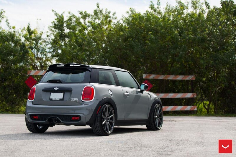 "Off Road Mini Cooper >> 19"" Staggered Vossen Wheels VFS1 Matte Graphite Rims #VSS024-2"