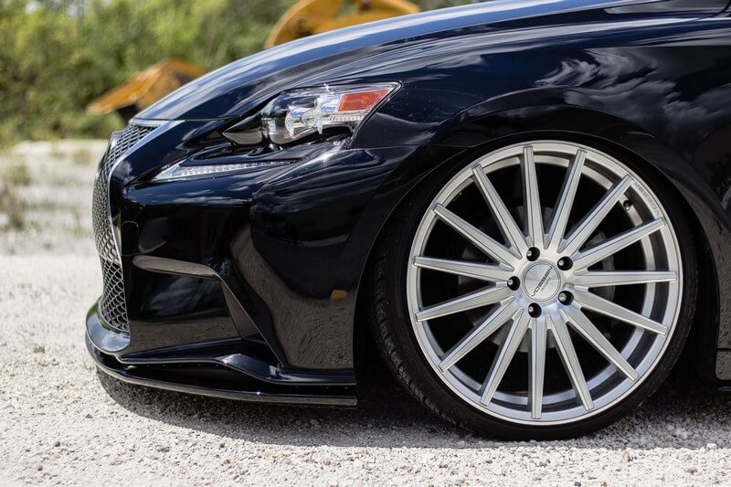 19 Quot Vossen Wheels Vfs2 Silver Polished Rims Vss029 1