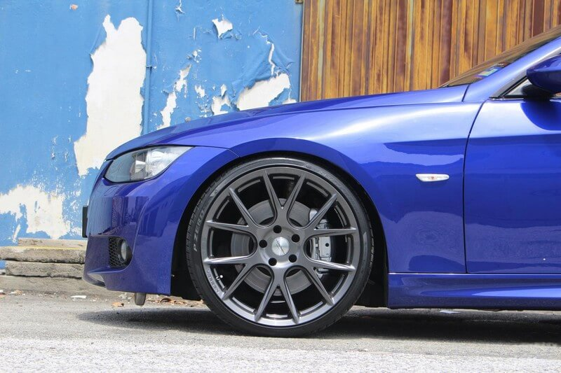 "20"" Vossen Wheels VFS6 Gloss Graphite Rims #VSS037-1"