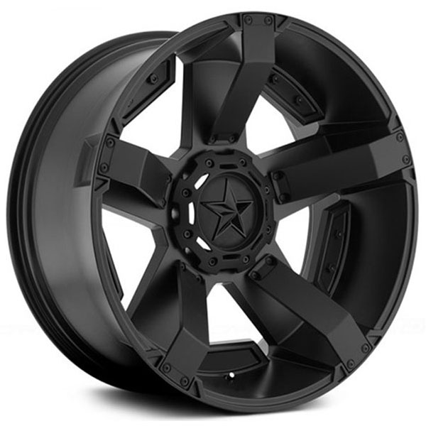 "20"" XD Wheels XD811 Rockstar 2 Satin Black with Customize Option Off-Road Rims"