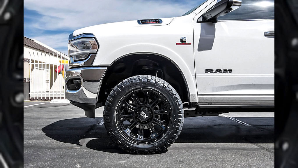 "20"" XD Wheels XD829 Hoss 2 Gloss Black Off-Road Rims #XD106-3"