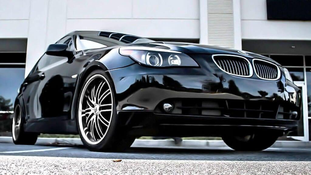 "20"" Staggered XIX Wheels X23 Black Machine with SS Lip Rims"