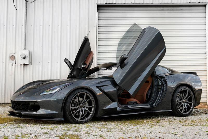 22 Quot Staggered Xo Wheels Verona Matte Gunmetal Rims Xo013 6