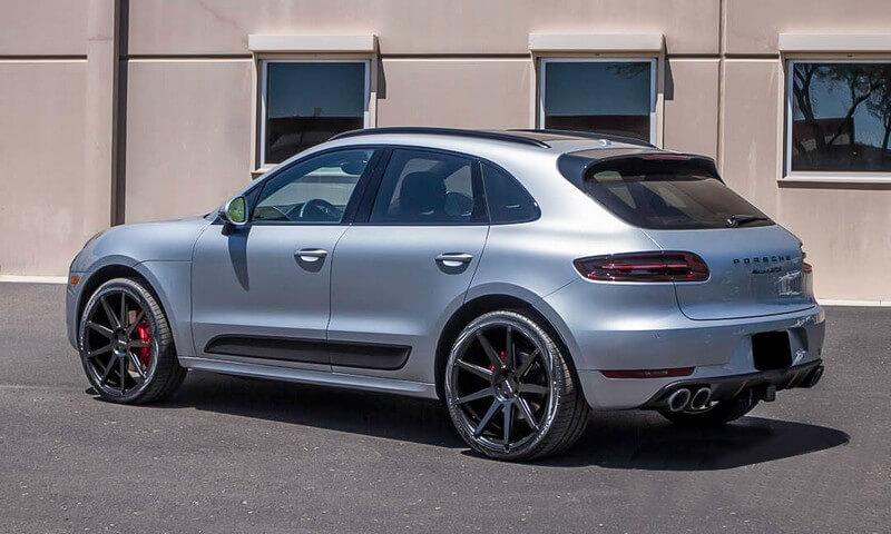 Zenetti Wheels Esquire Satin Black Rims Audiocityusa Porsche Caynne
