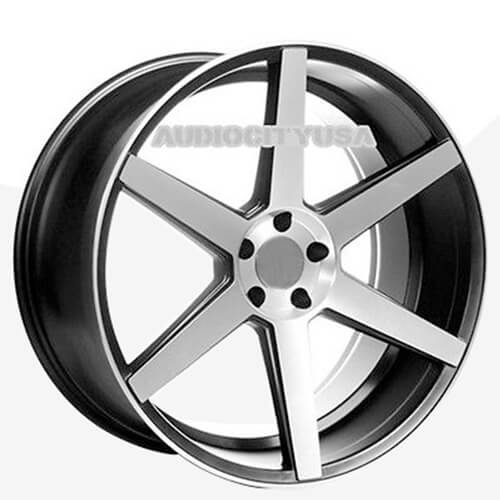 22 inch Sothis Wheels Rims Black Machined Staggered for BMW/Mercedes (Reg $1199)