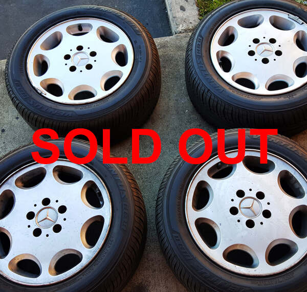 """16"""" 94 Mercedes SL500 OEM Factory Wheels and tires"""