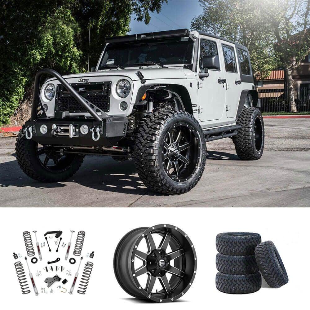 07-18 Jeep Wrangler JK 20x10
