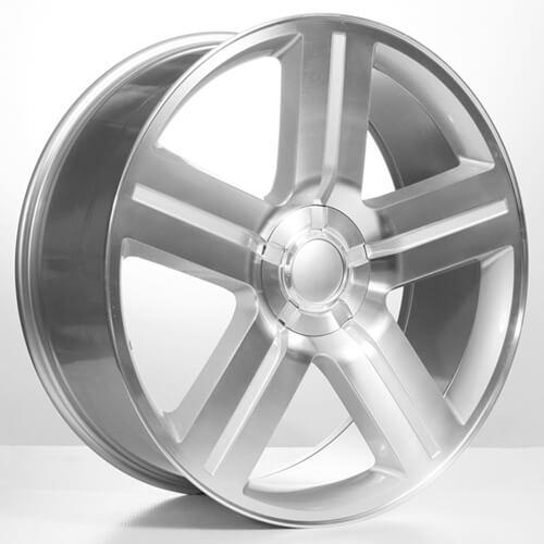 "26"" Silverado Suburban Wheels Rims Texas addition Silver OEM Replica (Reg $1899)"