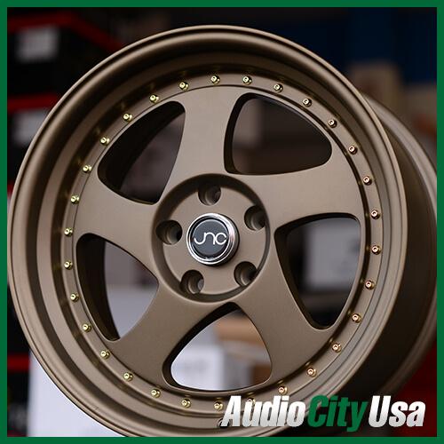"""18"""" JNC034 Wheels Matte Bronze JDM Rims"""