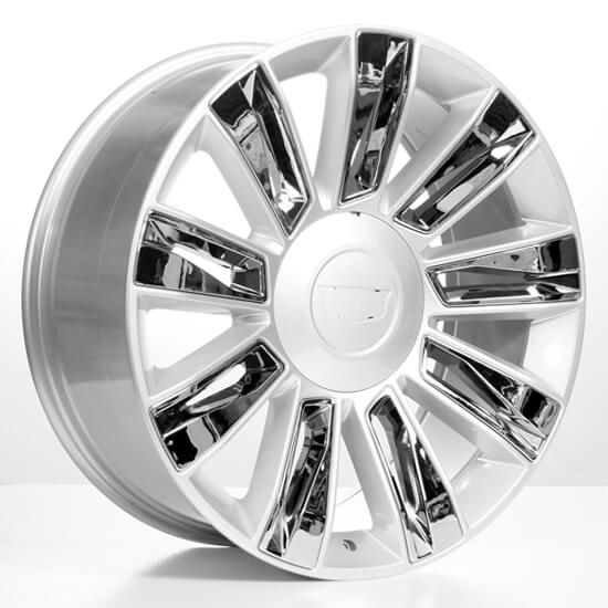 "22"" 2015 Cadillac Escalade Option3 Wheels Silver With"