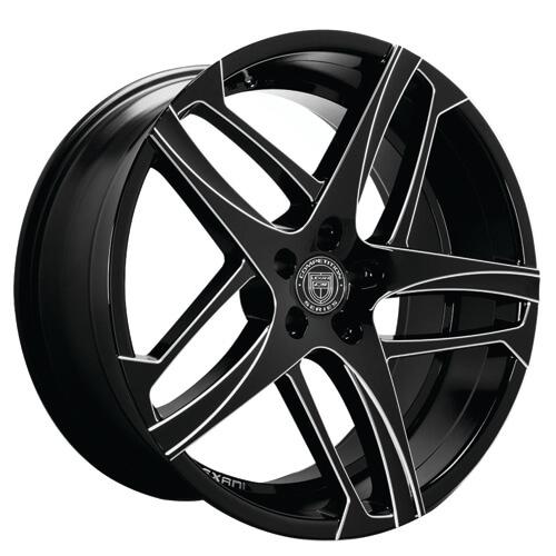 "22"" Staggered Lexani Wheels Bavaria -1set only"
