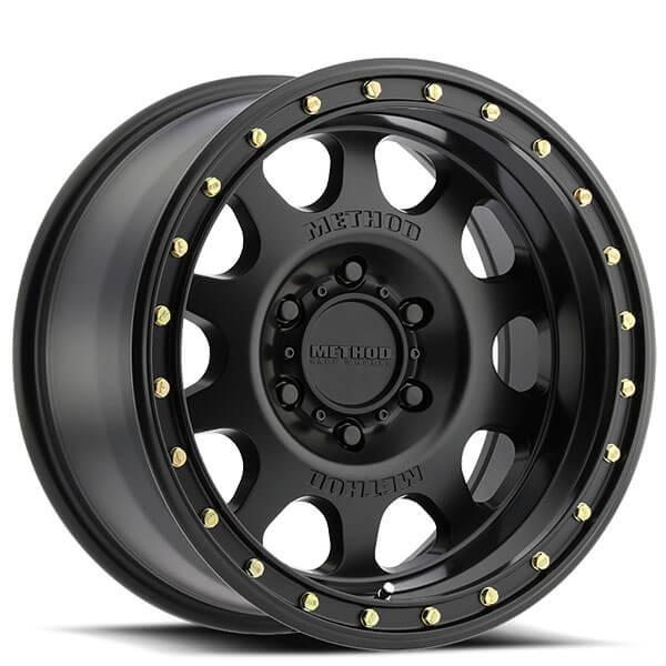 16 Quot Method Wheels 311 Vex Matte Black Rims Md002 1