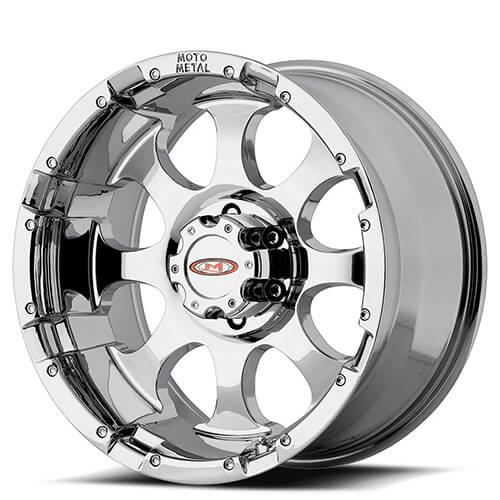 "16"" 17"" 18"" 20"" Moto Metal Wheels MO955 Chrome Rims"