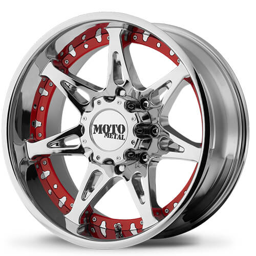 "18"" 20"" Moto Metal Wheels MO961 Chrome Rims"