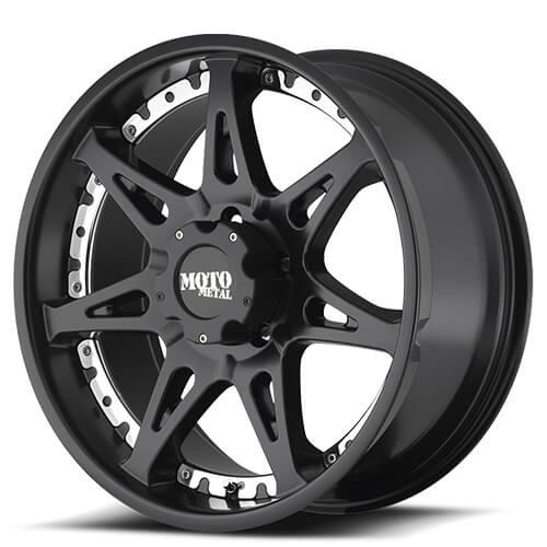 "18"" 20"" Moto Metal Wheels MO961 Black Rims"