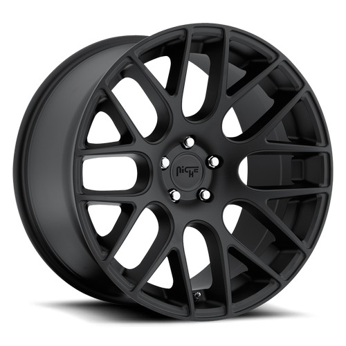 """18"""" 19"""" 20"""" 22"""" Niche Wheels M110 Circuit Matte Black Rims *Free Shipping"""