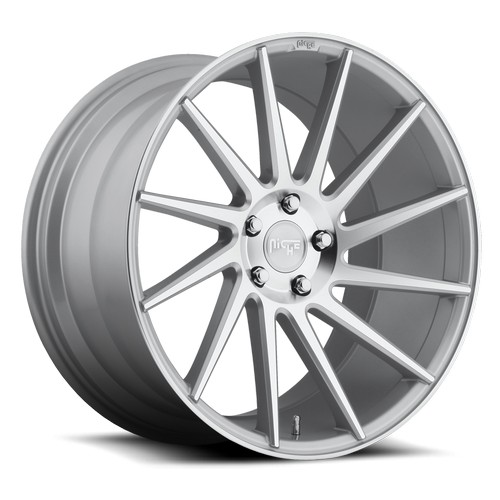 "19"" 20"" 22"" Niche Wheels M112 Surge Silver Macined Rims *Free Shipping"