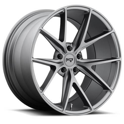 "17"" 18"" 19"" 20"" 21"" 22"" Niche Wheels M116 Misano Anthracite Rims *Free Shipping"