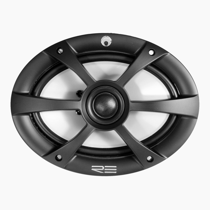 Re Audio RE-series Fullrange 5-inch by 7-inch Coaxial speaker system 4-ohm 125W