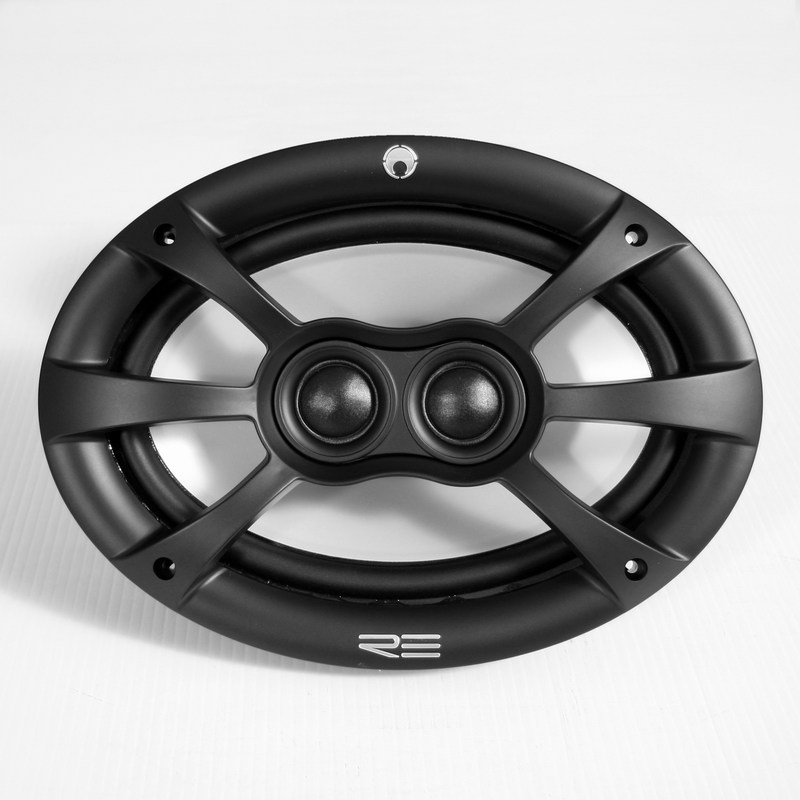 Re Audio RE-series Fullrange 6-inch by 9-inch Coaxial speaker system 4-ohm 200W