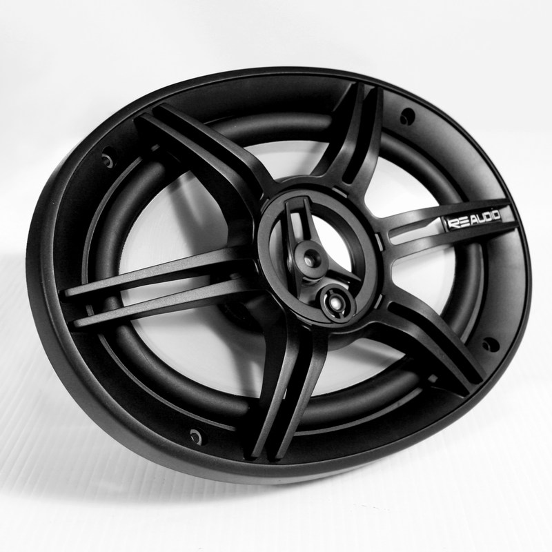 Re Audio REX-series Fullrange 6-inch by 9-inch Coaxial speaker system 4-ohm 200W
