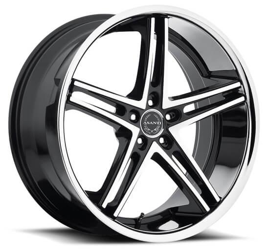 20inches 22inches Asanti Black ABL7 BM Wheels Rims