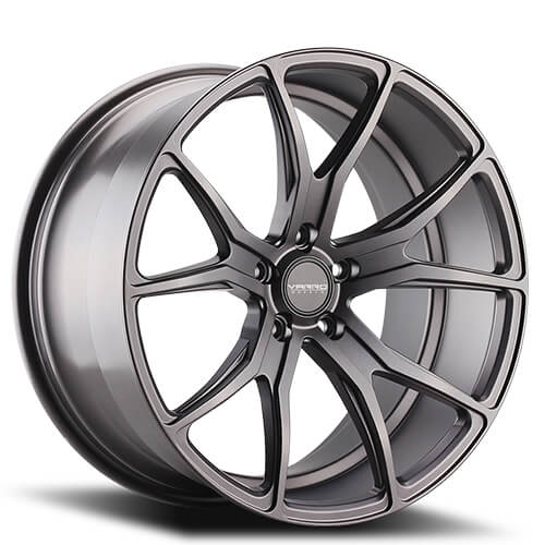"19"" 20"" 21"" 22"" Varro Wheels VD01 Matte Graphite Rims"