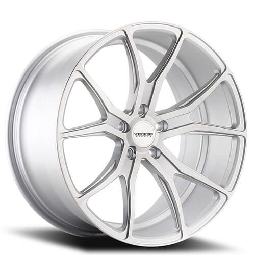 "19"" 20"" 21"" 22"" Varro Wheels VD01 Matte Silver Rims"