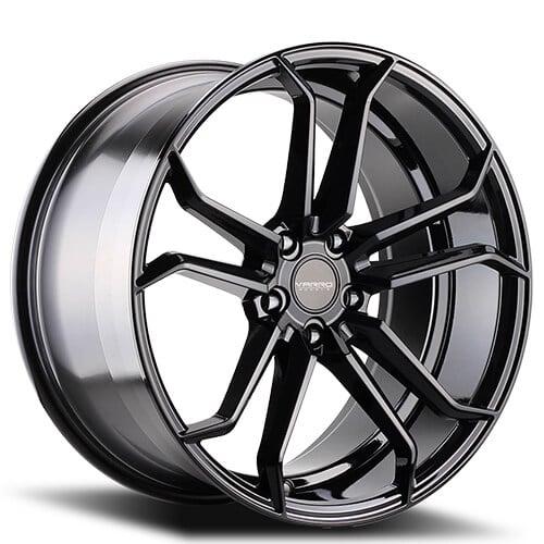 "19"" 20"" 22"" Varro Wheels VD02 Gloss Black Rims"