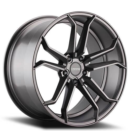 "19"" 20"" 22"" Varro Wheels VD02 Matte Graphite Rims"