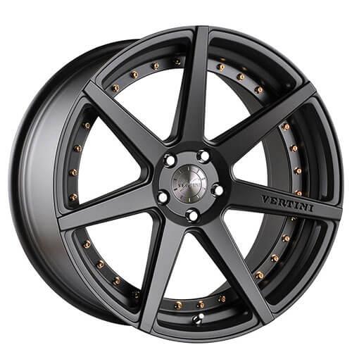 "19"" 20"" 22"" Vertini Wheels Dynasty Slate Grey Rims *Free Shipping"